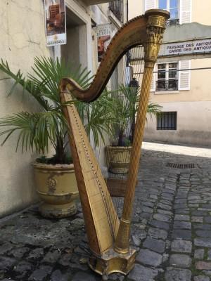 Harpe signé Sebastien Erard.