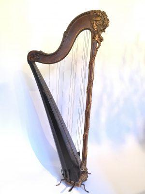 Harpe XVIII ème siècle signée Krupp.