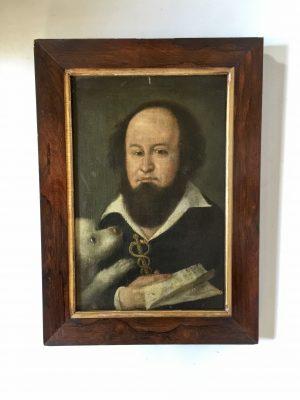 Portrait d'un médecin d'époque XVII ème siècle