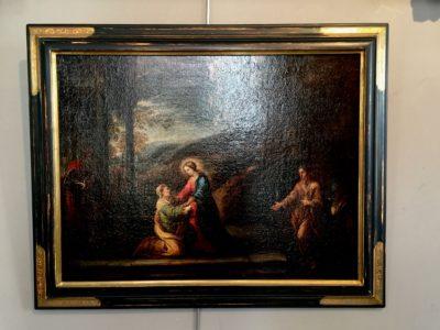 Tableau représentant l'annoncion à Marie.
