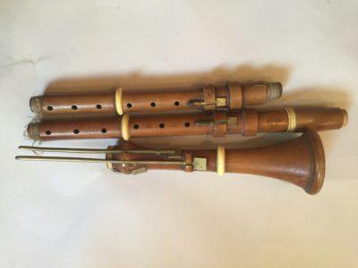 Clarinette XIX en buis.