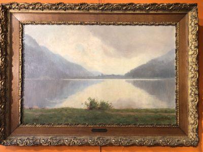 Tableau d'une des vues du lac de Gerardmer.