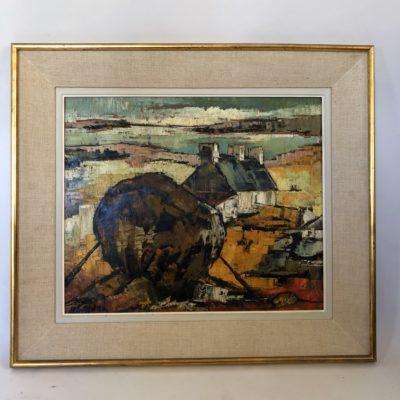 Tableau Breton des années 1960.
