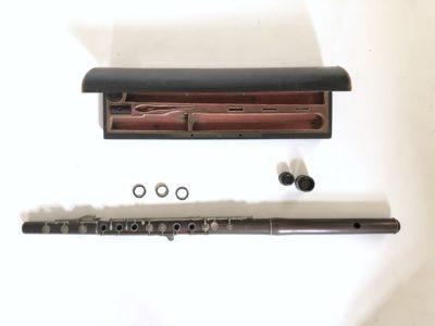 Flûte traversière de Clair Godefroy aîné vers 1840/1850.