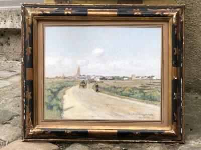 Aquarelle du peintre Alexis Louis de BROCA.