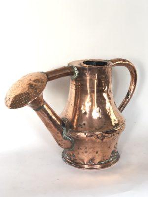 Arrosoir en cuivre d'époque XVIII éme siècle.