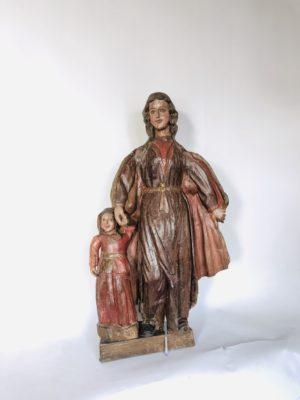 Sainte Anne et la Vierge d'époque  XVIII éme siècle.
