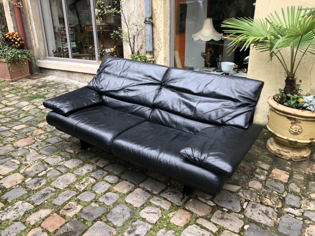 Canapé en cuir de Paolo PIVA.