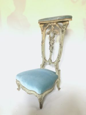 Prie-Dieu de style Louis XV/Louis XVI.