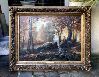Toile peinte de Pierre Jean MEULENAERE