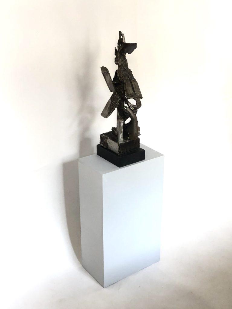 Sculpture Eole en métal de Claude QUILLATEAU.