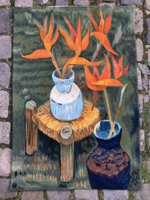 Tapisserie d'Aubusson d'après un dessin de TOFFOLI.