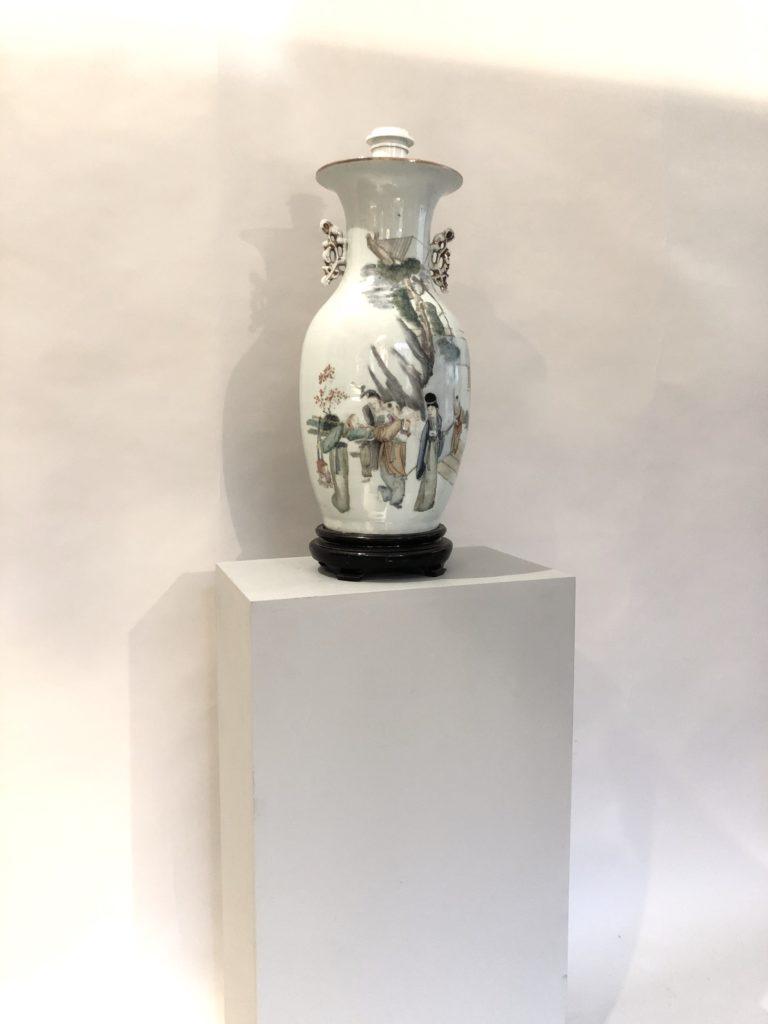 Vase chinois du début XX éme siècle.